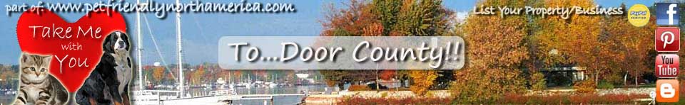pet friendly door county